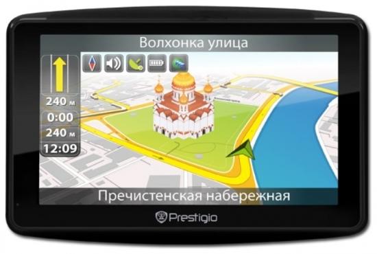 Prestigio GPS GeoVision 7900BTFMTV