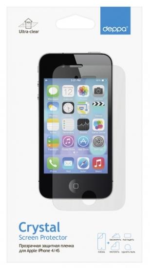 Apple iPhone 4/4s, прозрачная