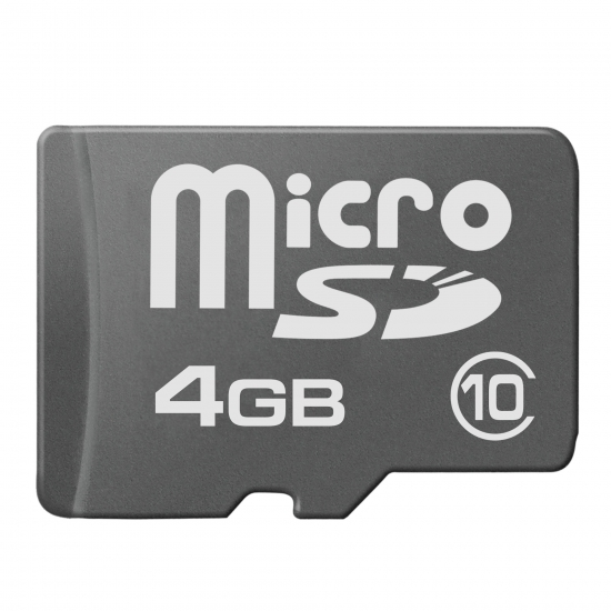 multibrand microSD 4GB Class 10