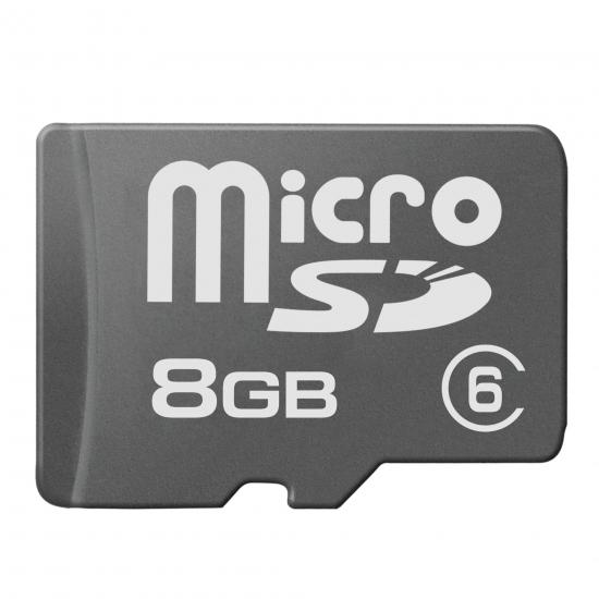 multibrand microSD 8GB Class 6