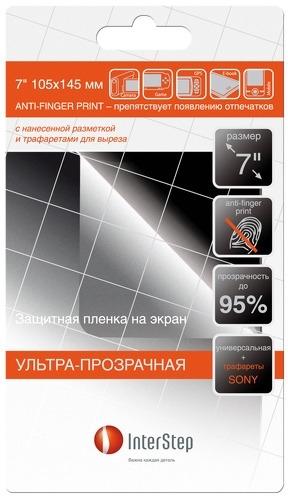"InterStep универ. ультрапрозрач 7""+трафареты HTC"