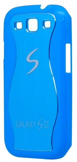 Samsung Бампер пластик,2 волны по бокам i9300(S3) (76-3)