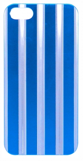 Apple Бампер пластик,полоски 5/5S (97-2)