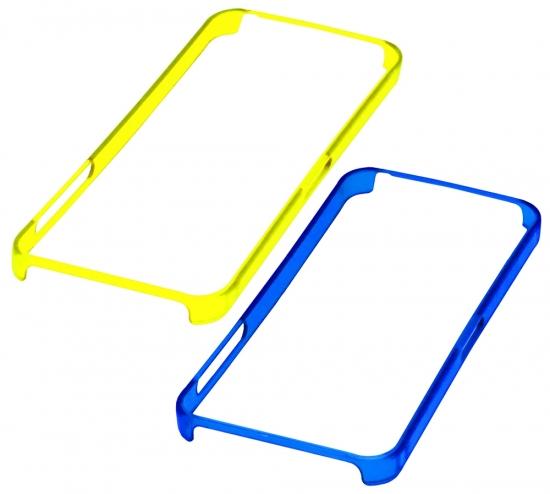 Apple Бампер пластик,ободок 4/4S (110-2)