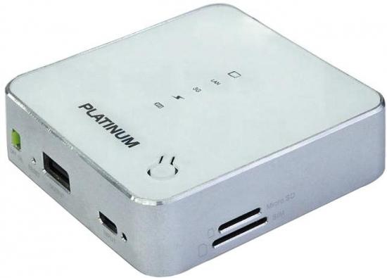 Explay Platinum 3G Wi-Fi роутер + Резервный аккумулятор 5000 мАч
