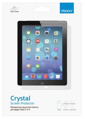 Deppa iPad 2/The new iPad,прозрачная