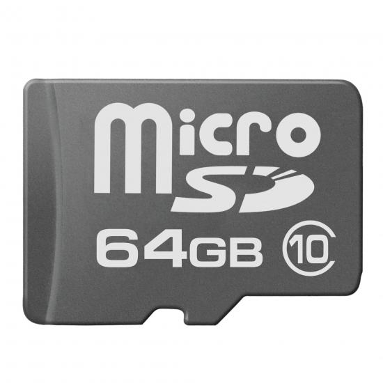 multibrand microSD 64GB Class 10