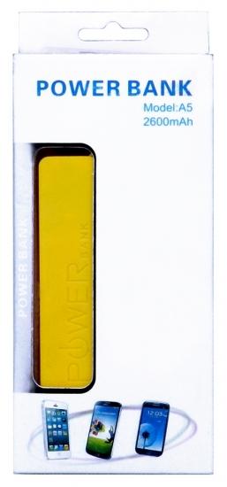 multibrand 2600 mAh, PB-2600(А5), 1USB
