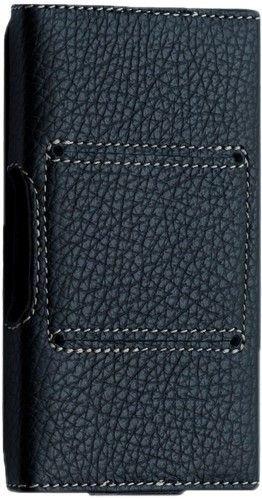 Samsung Galaxy S2 CreaCase series 5 размер XXL (гладкая кожа, черный)