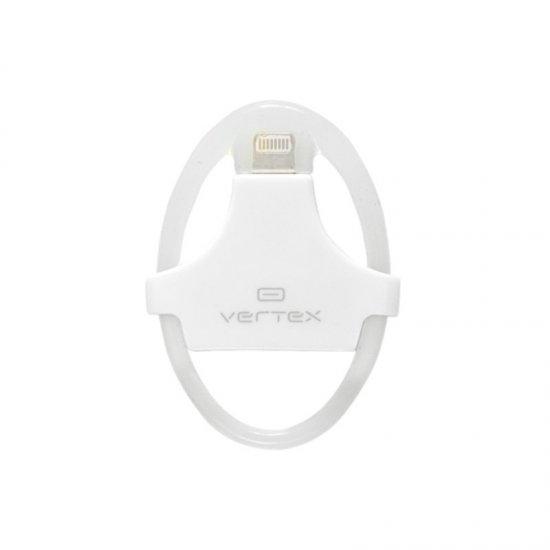 Vertex Адаптер для iPhone 5 в силиконовом кольце,с разъемами s30-pin - s8-pin