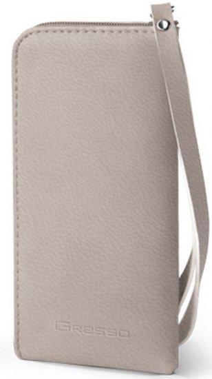 Gresso Жемчужина-кошелек размер 3XL серый