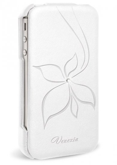 HTC ONE X Чехол-книжка Венеция белый