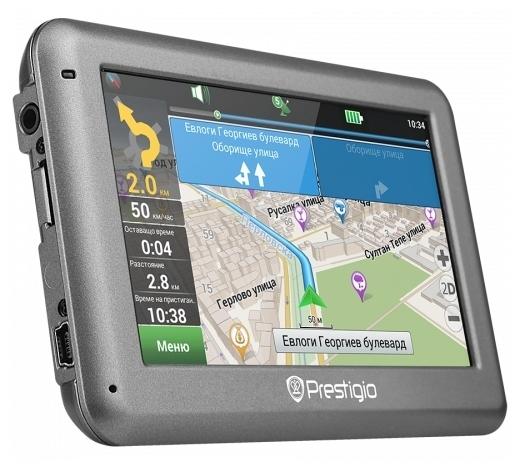 Prestigio GPS GeoVision 4055 (ZDPGPS4055CIS04GBNV)