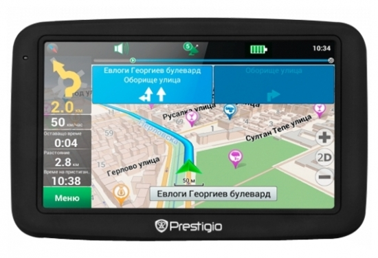 Prestigio GPS GeoVision 5055 (ZDPGPS5055CIS04GBNV)