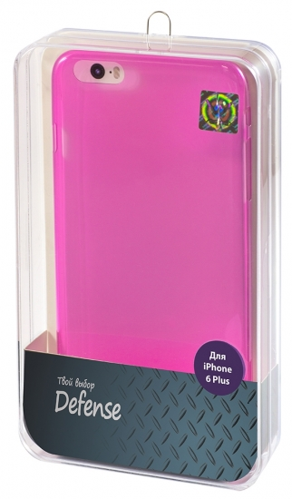 Vertex Клип-кейс полиуретановый для iPhone 6 Plus 05мм