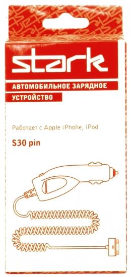 STARK разъем s30pin iPhone4-4s 1000мА
