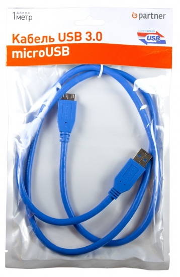 Partner USB 3.0 - microUSB, 1м