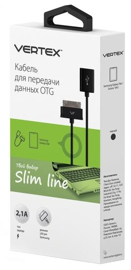 Vertex OTG S30pin-USB F для Samsung