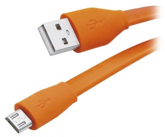Partner USB 2.0 - microUSB 1м 2.1A плоский