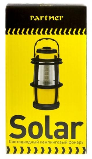 Partner Светодиодный кемпинговый фонарь Solar 16 LED