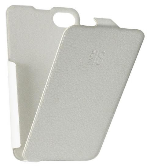 Apple iPhone4 кожа белый