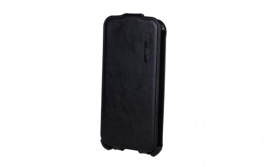 Apple iPhone4 кожа черный