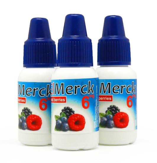 ElMerck wild berries (Лесные ягоды) 6 мг 10 мл (пр-во Германия)