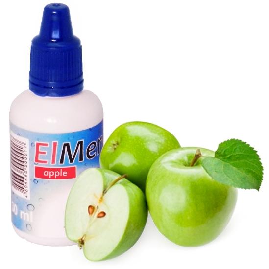 ElMerck apple (яблоко) 3 мг 30 мл (пр-во Германия)