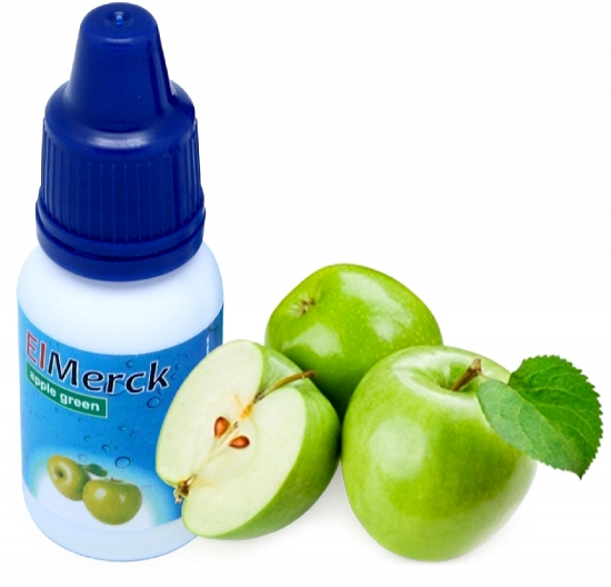 ElMerck apple (яблоко) 6 мг 30 мл (пр-во Германия)