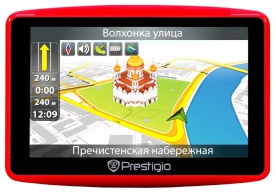 Prestigio GeoVision 4900 BTFM