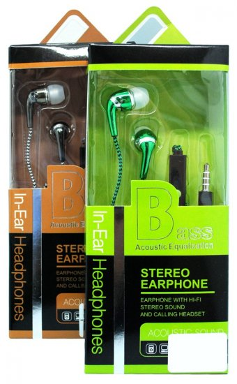 multibrand Bass in-Ear Head