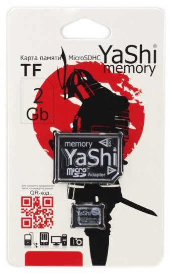 YaShi microSD 2.0 2Gb