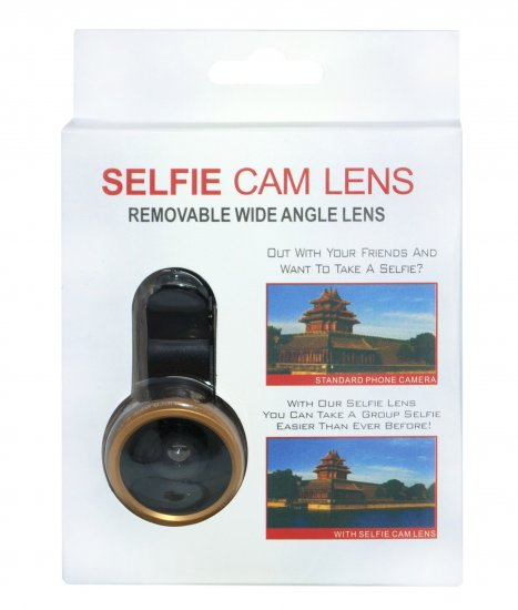 multibrand Removable wide angle lens