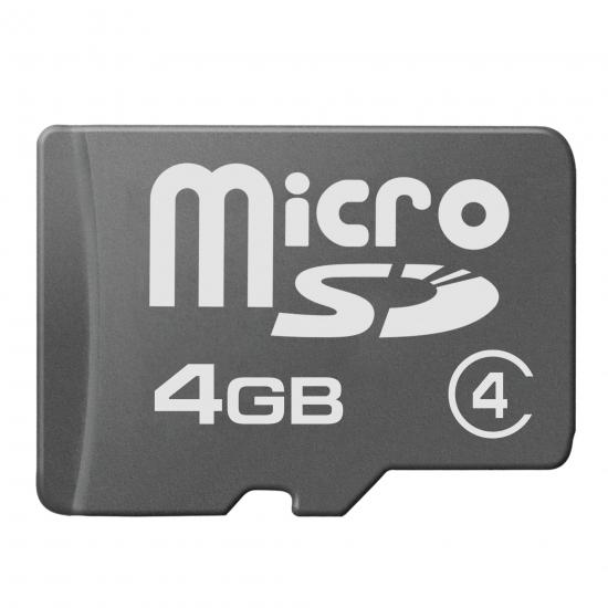 multibrand microSD 4Gb Class 4